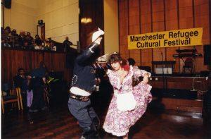 Refugee Cultural Festival 1999 Chilean dancers
