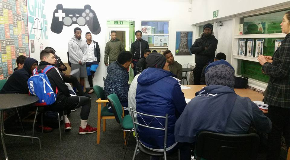 On the 19th February, we ran employment mentoring for refugees. A great success! #refugeeswelcome